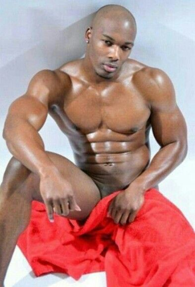 Ebony gay male