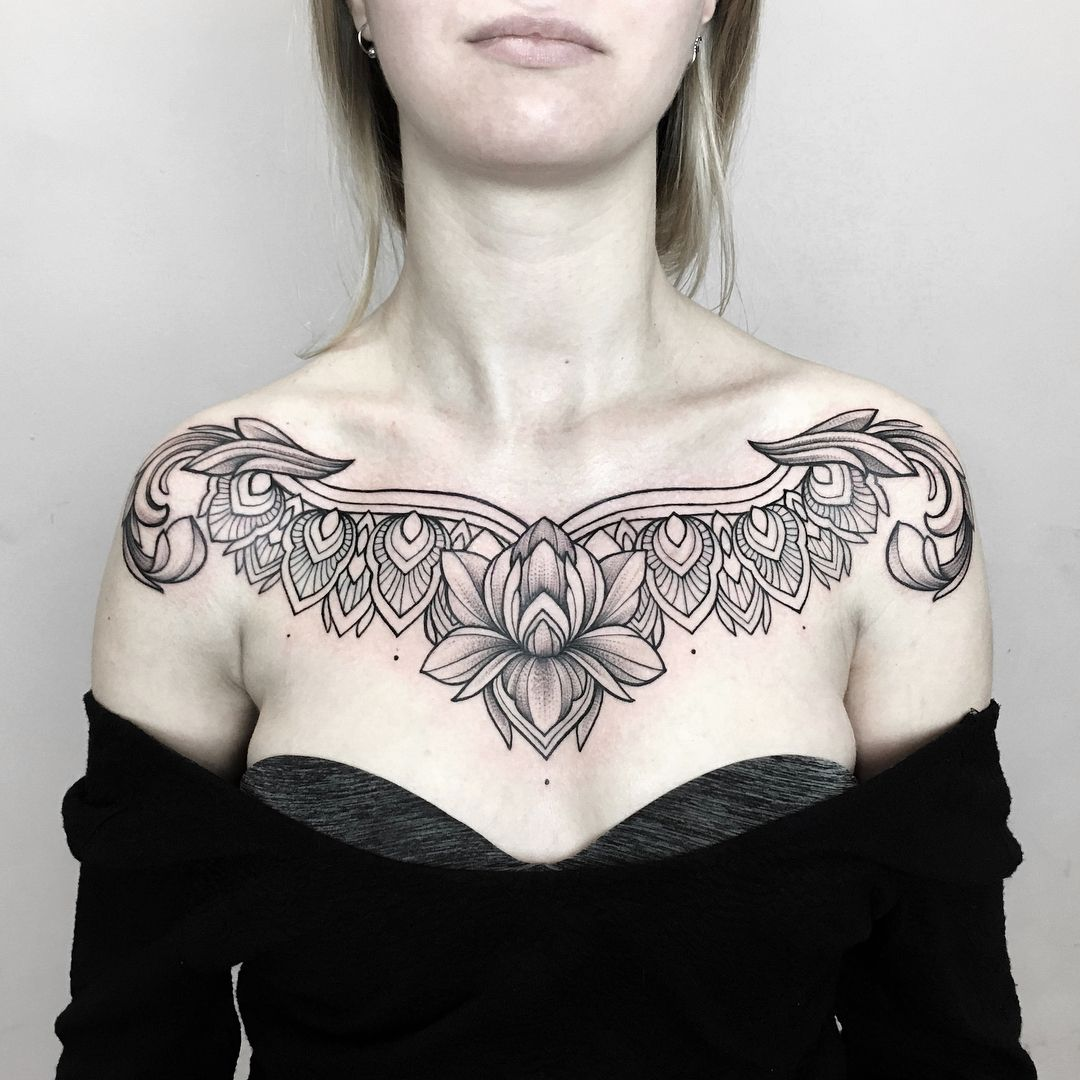 Pin by Vanessa GoodyearKaopua on Dets Ink Chest piece