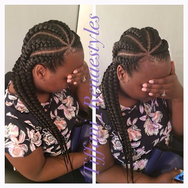 15 More Big Cornrow Styles To Feast Your Eyes On - Black Hair ...