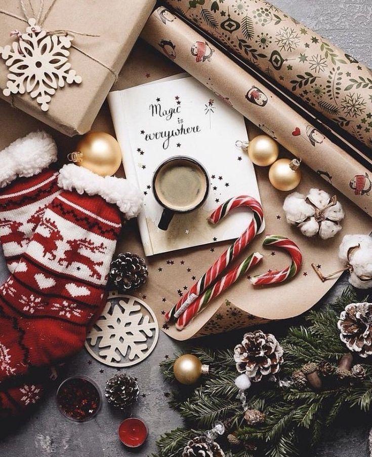 Geschenkverpackungen zum Weihnachtsfest