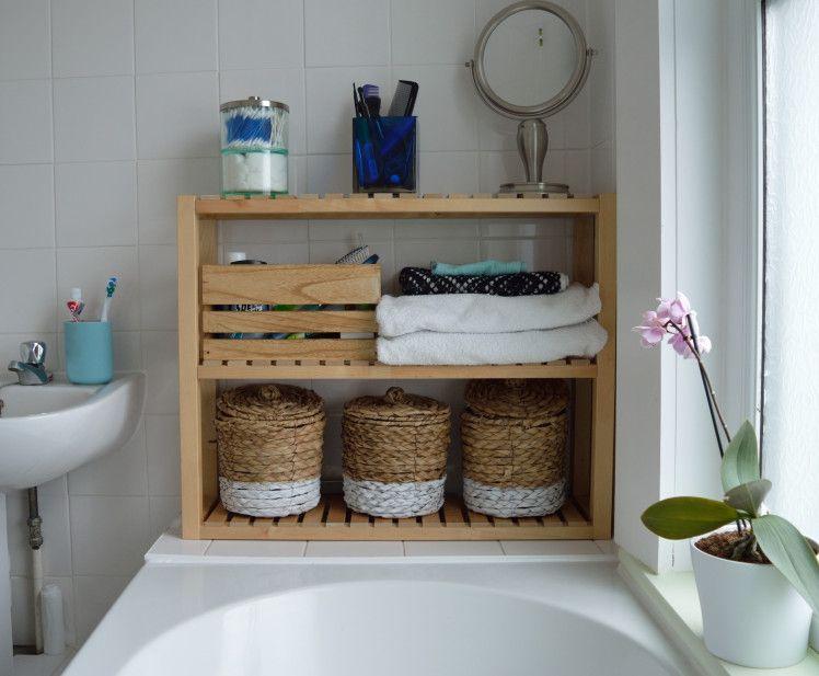 Badezimmer Regal Ikea: Pin Von Cami Puentes Auf Bathroom Redo Ideas
