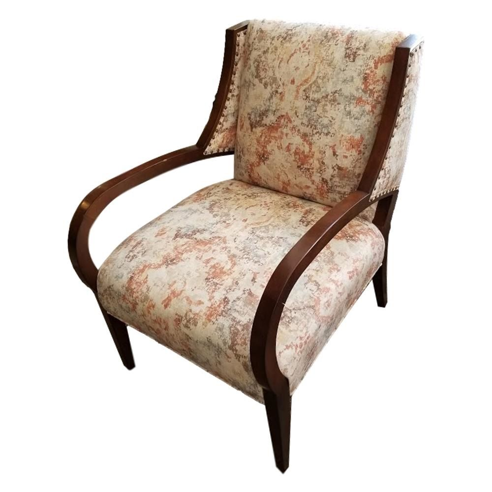 Tally Exposed Wood Chair By Sam Moore Hooker Furniture Outlet