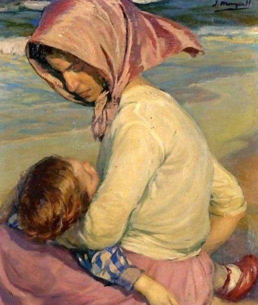 José Mongrell Torrent (1870 – 1937, Spanish). Love this.