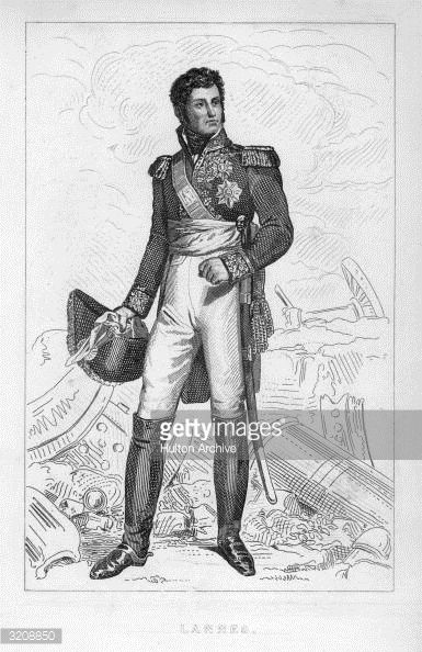 Jean Lannes Duc de Montebello French general with General Bonaparte in the Italian campaign and in Egyptian campaign 179899 participated in the 18th...