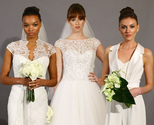 The Great Wedding Dress Debate - Tulle, Black, Mermaid, Floral, Flash the Flesh, Thigh Slits, individual, Laser-cut, Slinky, or Make like Middleton - which would you choose?