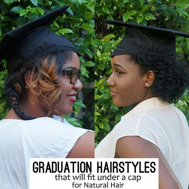 Natural Hair Graduation Hairstyles That Will Fit Under A Cap