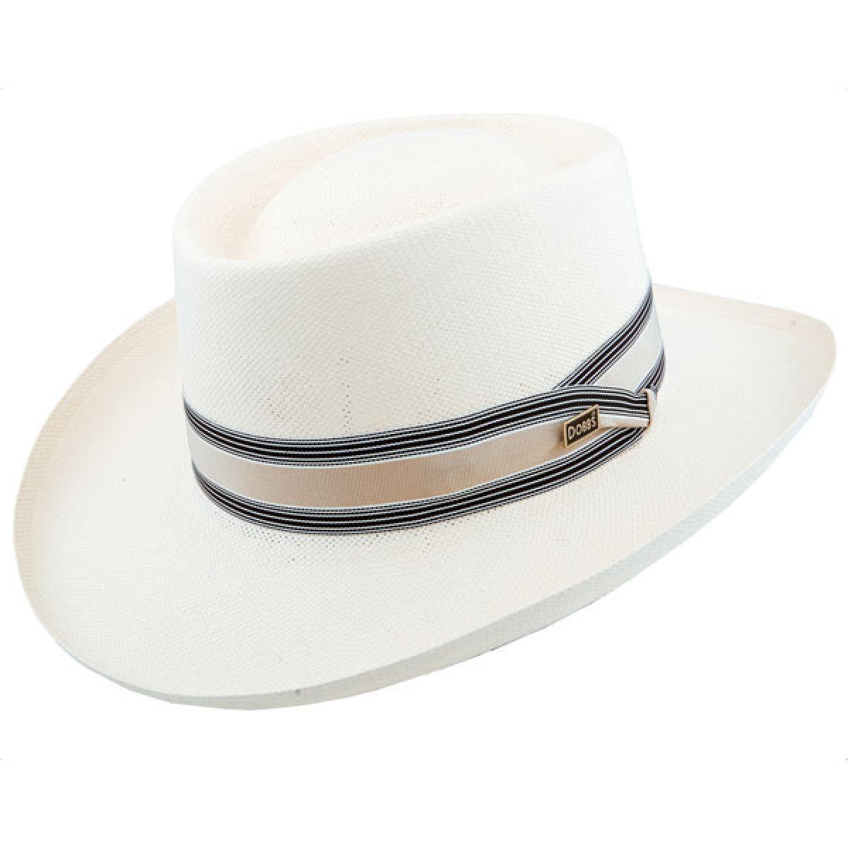 63bfda8dcff Dobbs Kingston - Panama Straw Gambler Hat  ThingstoWear