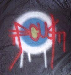 FCUK - Target Print Short-sleeve Shirt FCUK - Target Print Short-sleeve  Shirt 874ce928c7bc