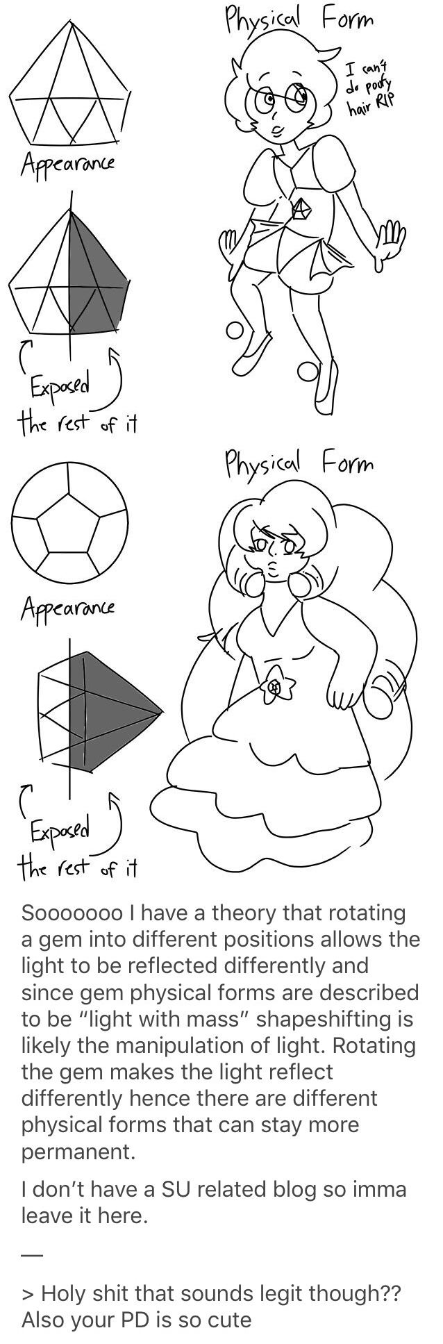 I totally buy this theory - Steven Universe - Rose Quartz