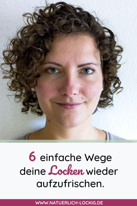 Aufzufrischen Kannstkennst Naturlocken Auffrischen Vogelnest Techniken Aufstehst Einfache Morgens Einf Curly Girl Curly Girl Method Curly Hair Styles