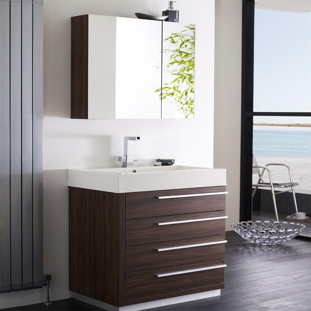 Waschtischunterschrank Und Spiegelschrank In Grau 1440mm 1079 Gastebad Ideen Spiegelschrank Stil Badezimmer