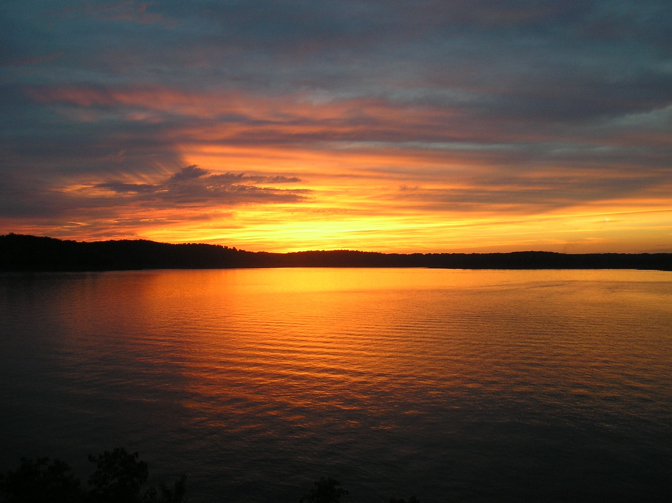Bull Shoals Lake Sunset Simply Beautiful Favorite Places Spaces