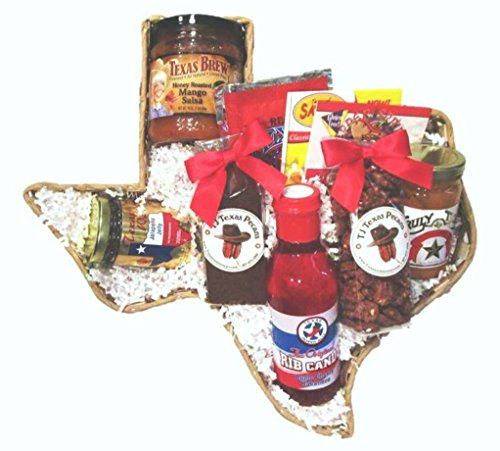 #Ranch #Hand #Taste of #Texas #Food #Gift #Basket #Texas Products Excellent #Gift #Texas State Shaped 16 inch x 16 inch x 2.5 inch #basket https://technology.boutiquecloset.com/product/ranch-hand-taste-of-texas-food-gift-basket/