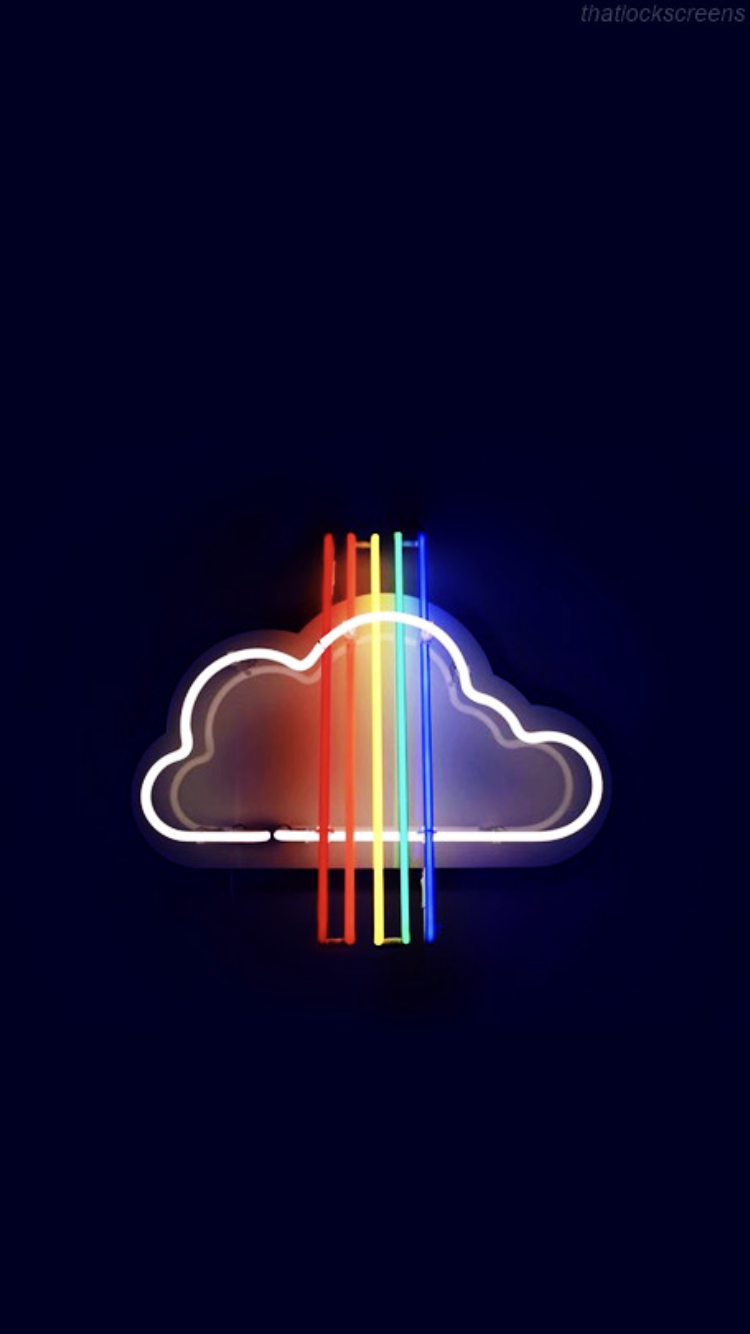Pin by The LittleBigFox on Wallpaper   Rainbow wallpaper ...