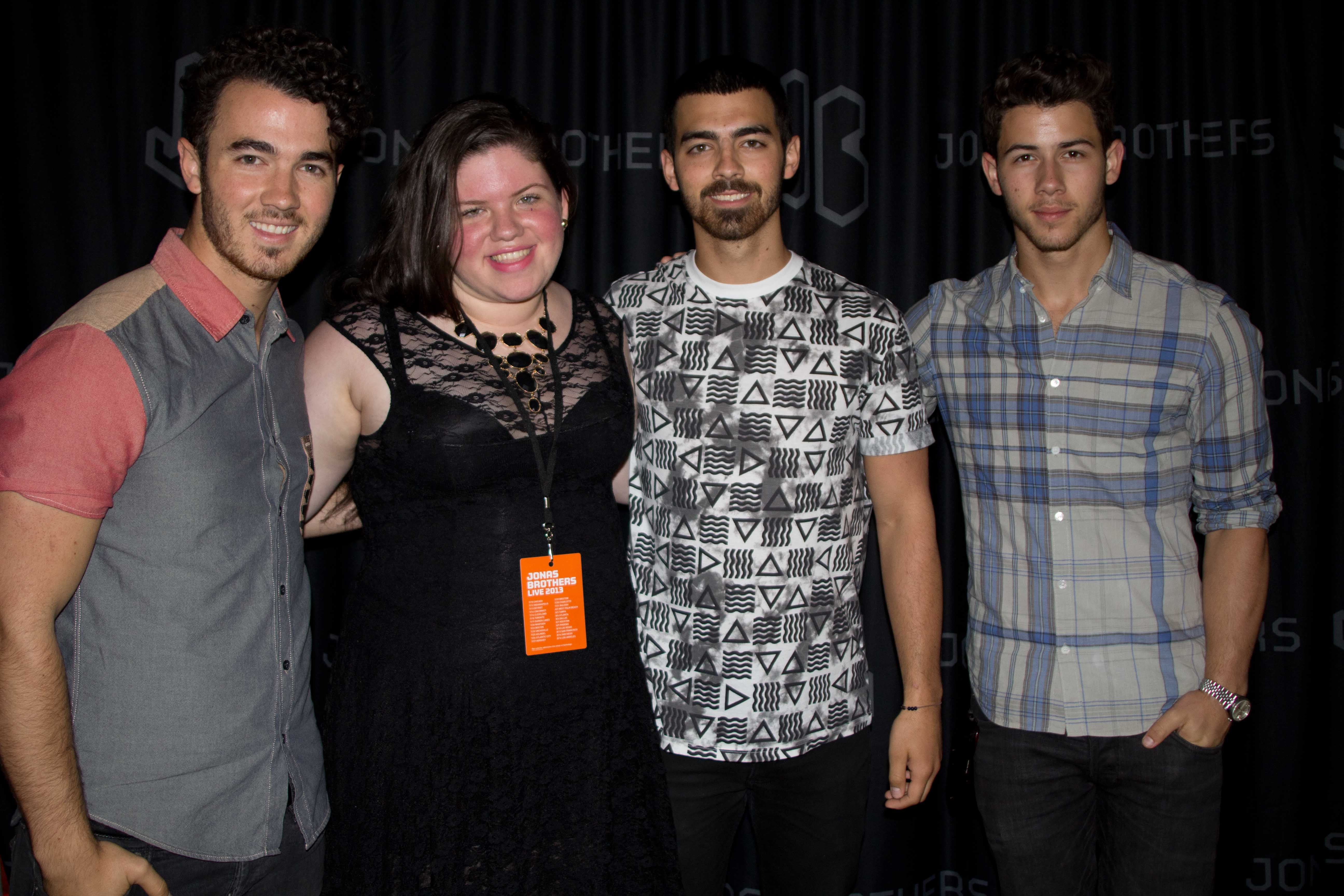 My meet and greet picture from my jonas brothers live tour concert my meet and greet picture from my jonas brothers live tour concert find this pin and more on my real life m4hsunfo