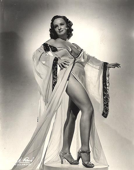 46ab16c57b61 Betty Rowland, the Redheaded Ball of Fire. | Burlesque