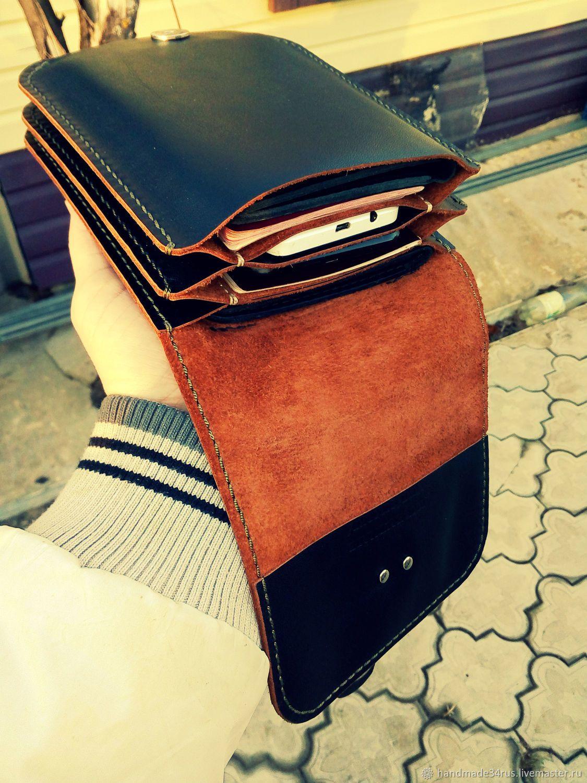 2e1cfcba2e82 Мужские сумки ручной работы. Сумка мужская кожаная.Поясная-наплечная ...