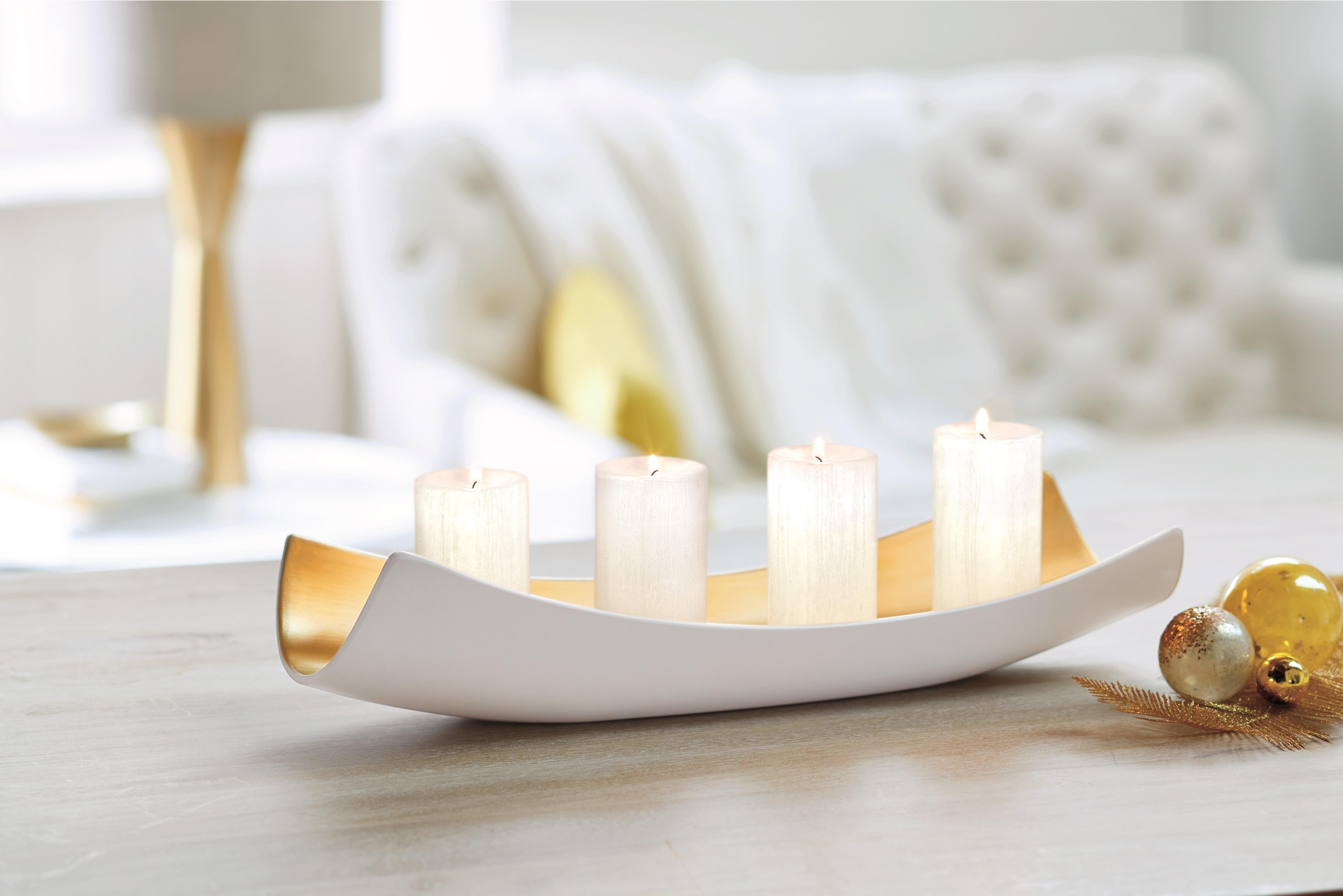 Kultainen ja valkoinen joulu! #partylite #candles #decoration #joulu #jul