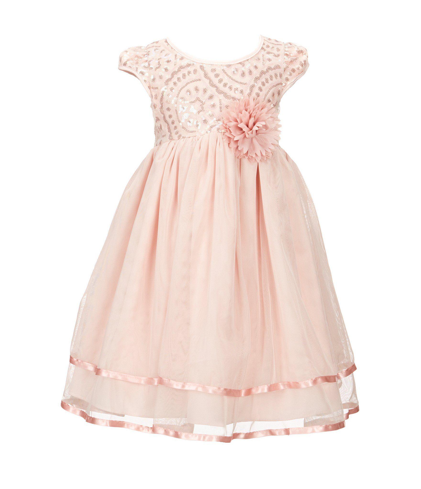 Marmellata Little Girls 2T6X Embellished Tulle Dress Dillards