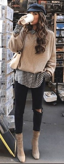 Photo of 20 Winter Frauen Outfits mit Pullover – Winteroutfits
