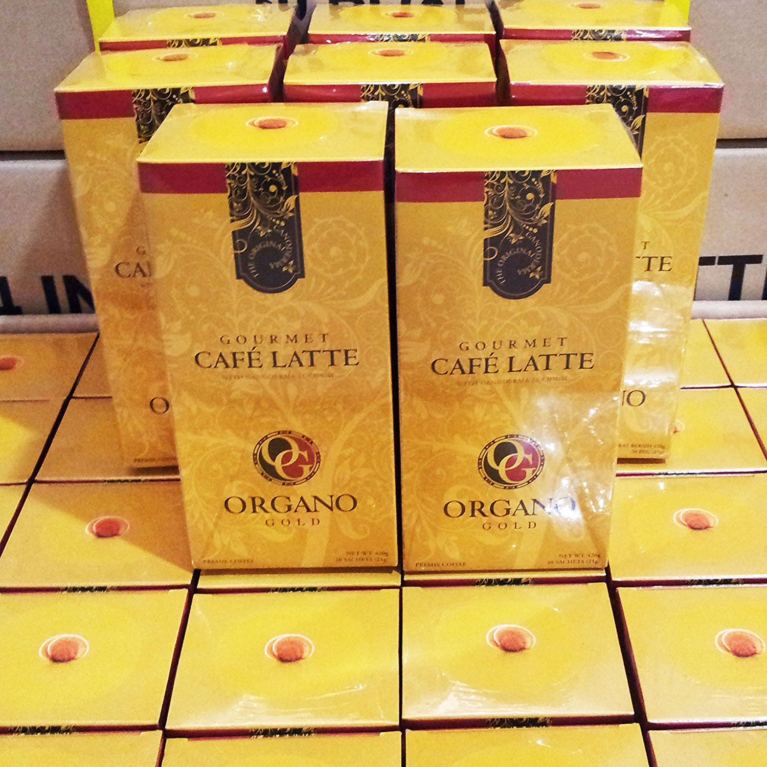 6 Boxes Organo Gold Gourmet Cafe Latte With 100% Organic