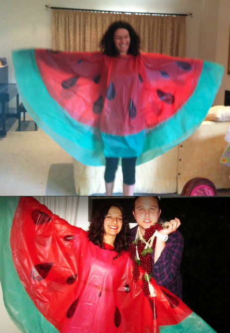 The Easiest Watermelon Costume There Ever Was Fasching