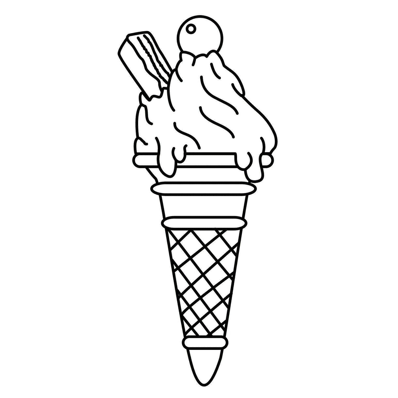 Icecream Cone Coloring Pages Best Of Coloring Pages Ice Cream