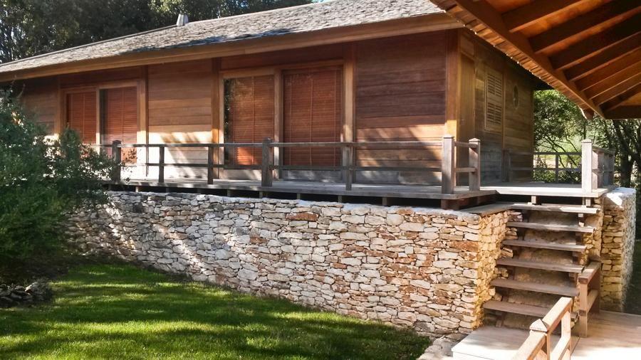mariage bois pierre Maison bois Pinterest Woods and House - maison en bois et en pierre