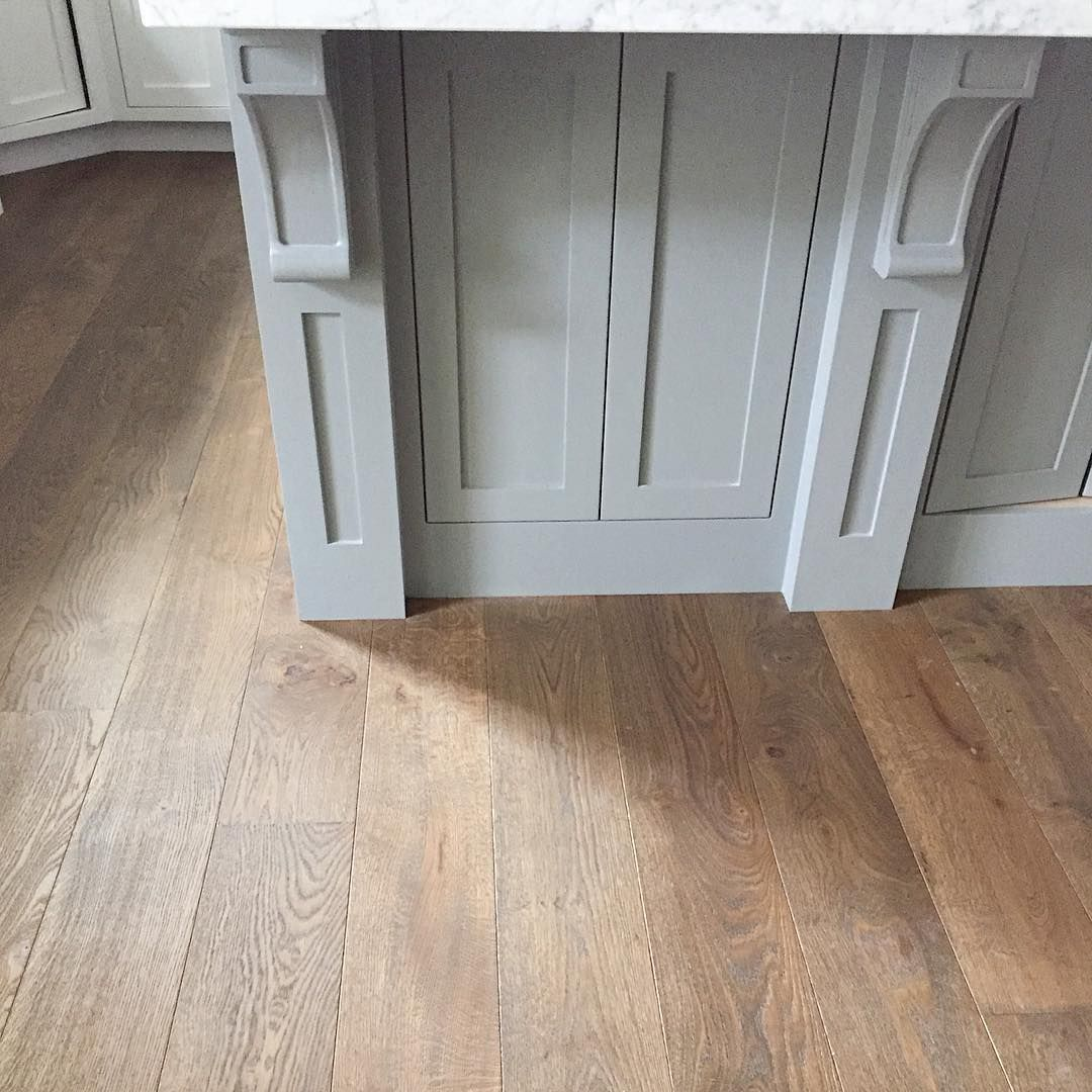 Island Paint Is Gavelston Gray BM, Floors Are Monarch