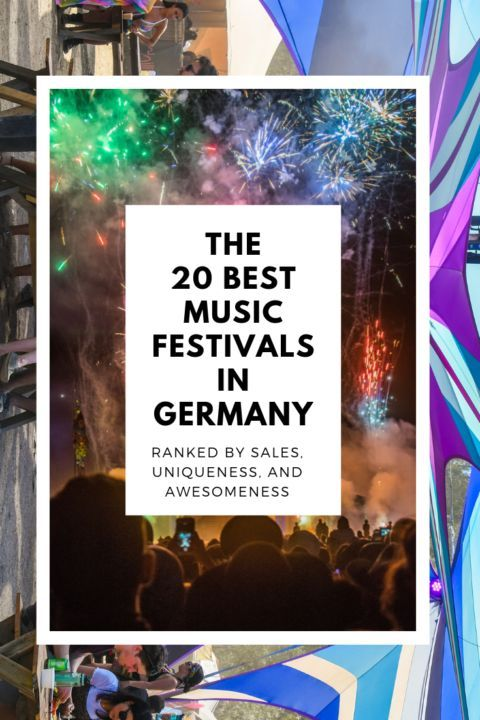 The best music festivals in Germany, as ranked by sales data. These german music festivals are of every genre = house, techno, rock, alternative, indie, EDM, and more! #musicfestivals #festivalseason #germany #festivalinspo#festivals #edm #rock #housemusic