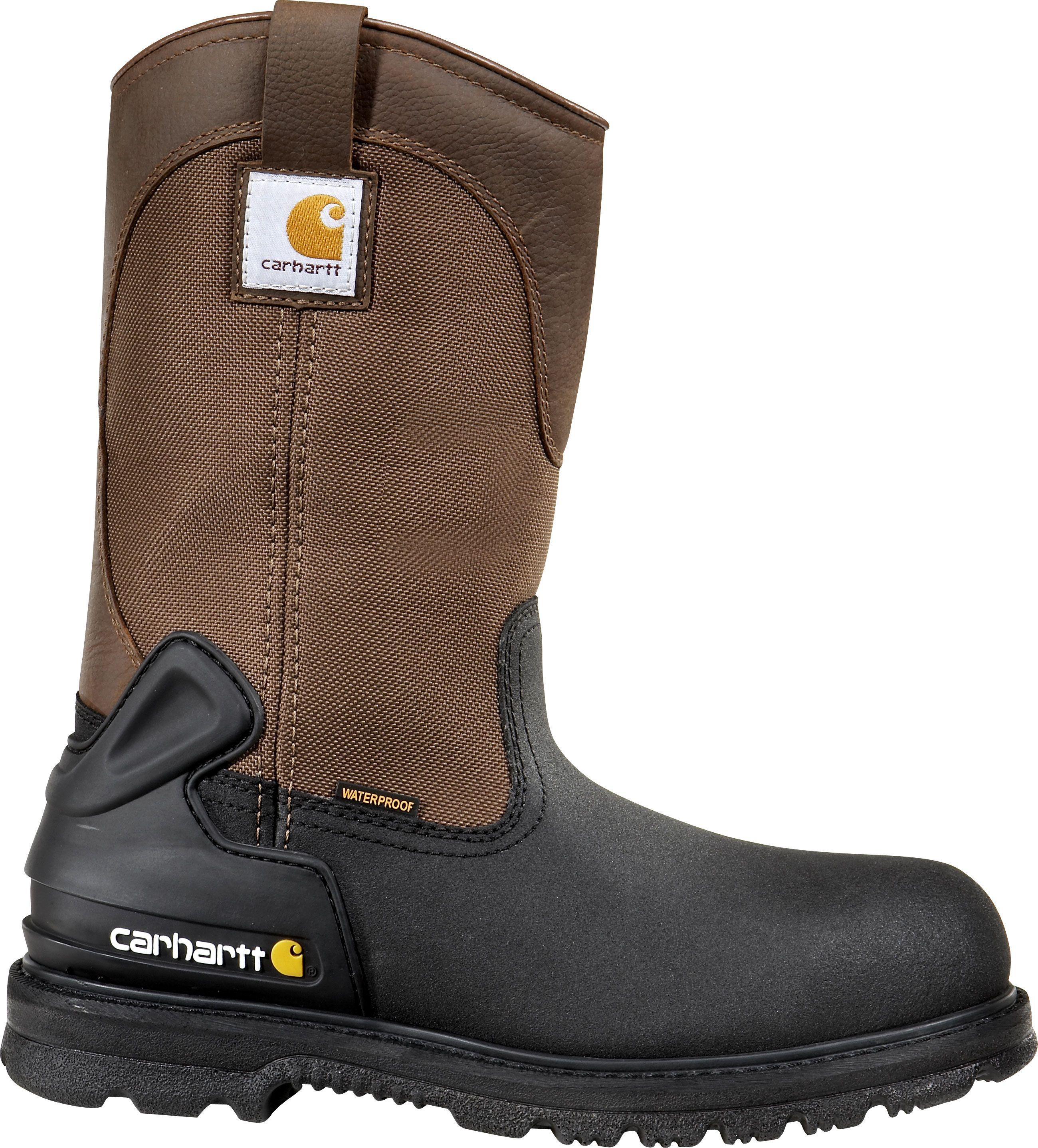 6219a8885ca CMP1159 Carhartt Men's Waterproof Work Boots - Brown   Carhartt ...