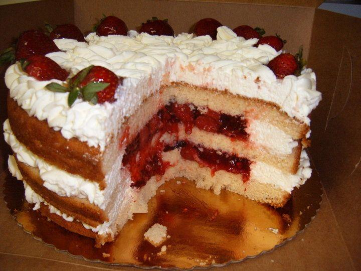 Surprising Strawberry Shortcake My Birthday Cake Was So Delicious And Funny Birthday Cards Online Elaedamsfinfo