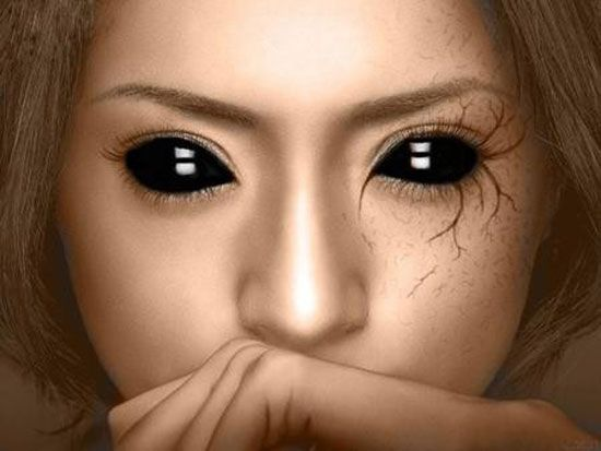 25 best crazy scary halloween make up looks ideas 2012 for girls - Scary Halloween Eye Makeup