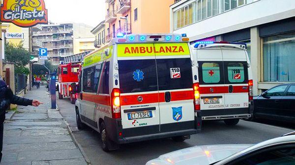Ossola24 - Coppia di anziani portata al Dea, trovati in casa a terra, salvati dai Vigili del fuoco