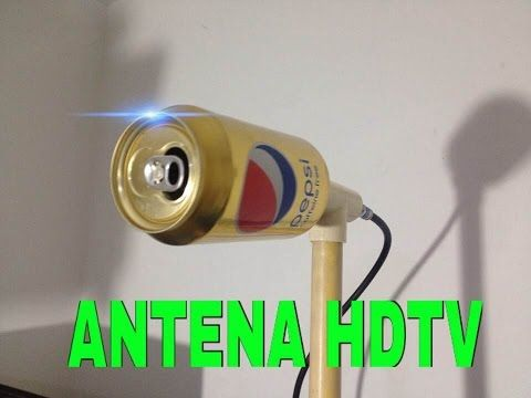 Antena Hd Casera Ultra Potente Con Lata De Pepsi Youtube Con