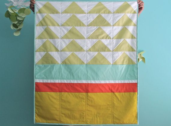 neon flying geese color block quilt: one of a kind | q u i l t s ... : color block quilt pattern - Adamdwight.com