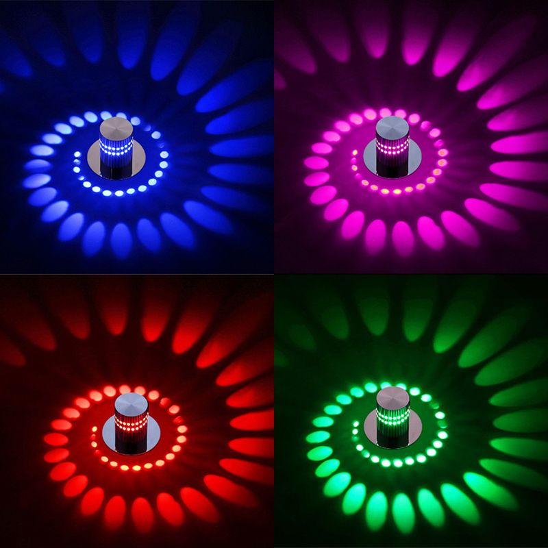 Modern RGB LED Ceiling Light for Art