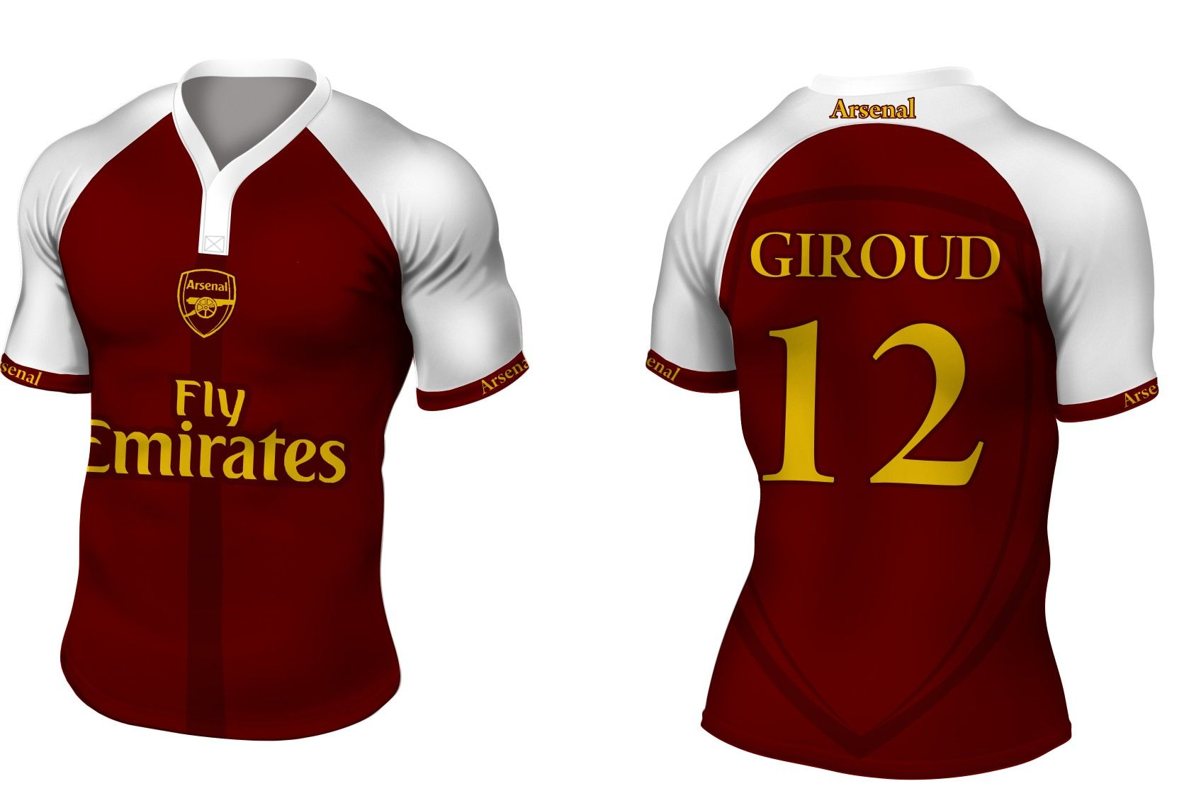 1b4c11408f2 Arsenal FC Concept Kit | Football | Arsenal fc, Football kits, Football