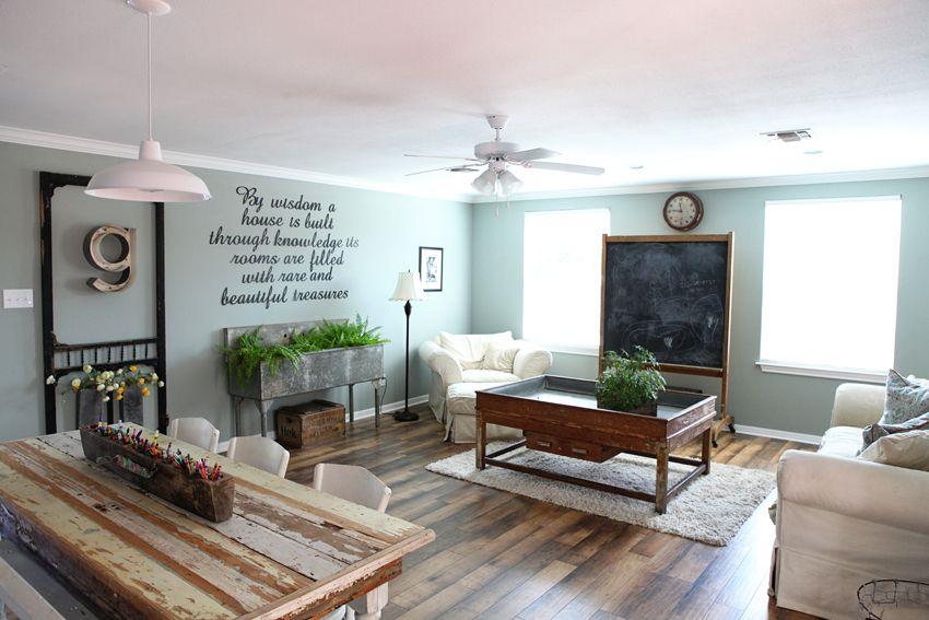 Magnolia Home Decor i love this model room settingthe magnolia mom | home sweet