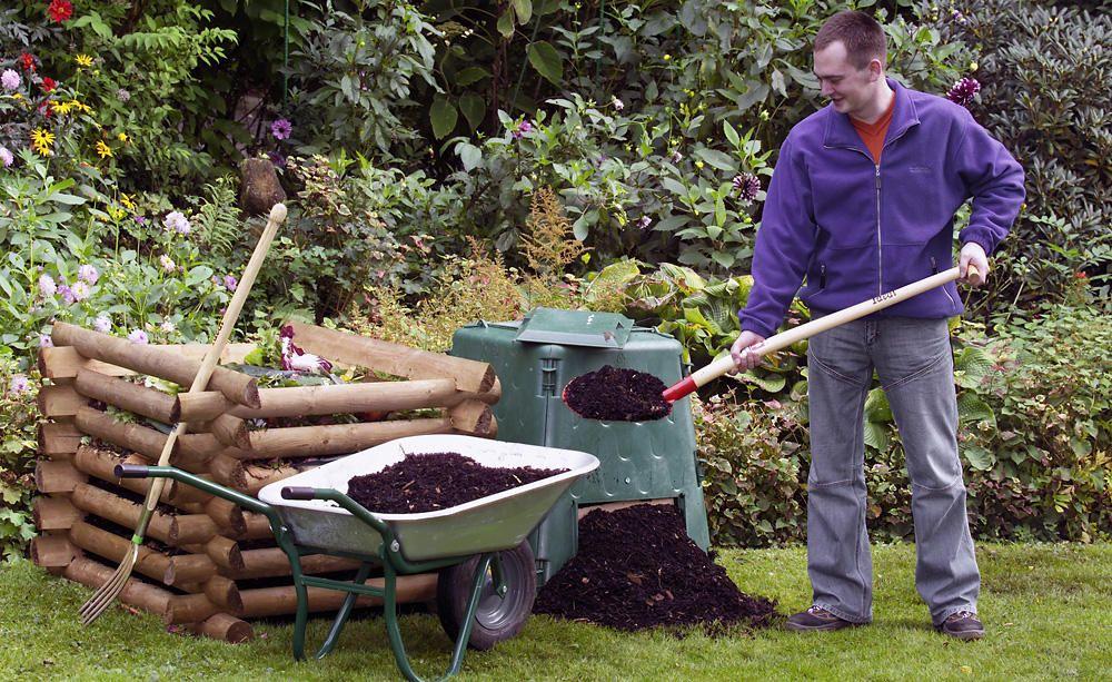 Thermokomposter Wenn Es Schnell Gehen Soll Kompost Garten Ideen Garten