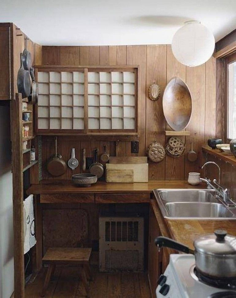 This is a smaller and more unique japanese kitchen in for Japanese style kitchen sink