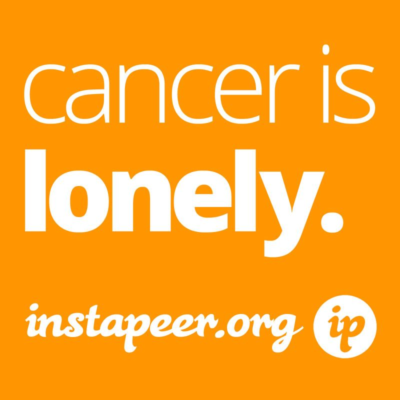 Reach out to a cancer friend today.