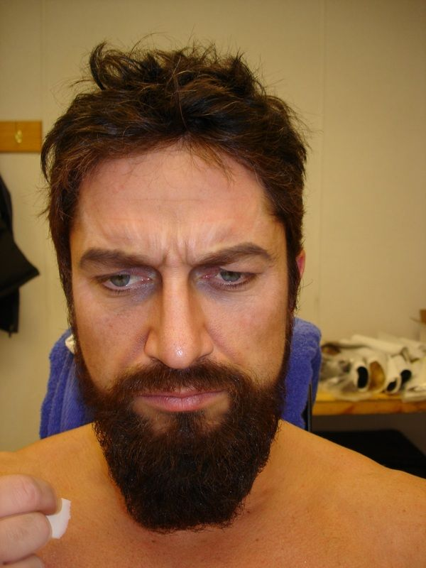 gerard butler 300 beard - photo #21