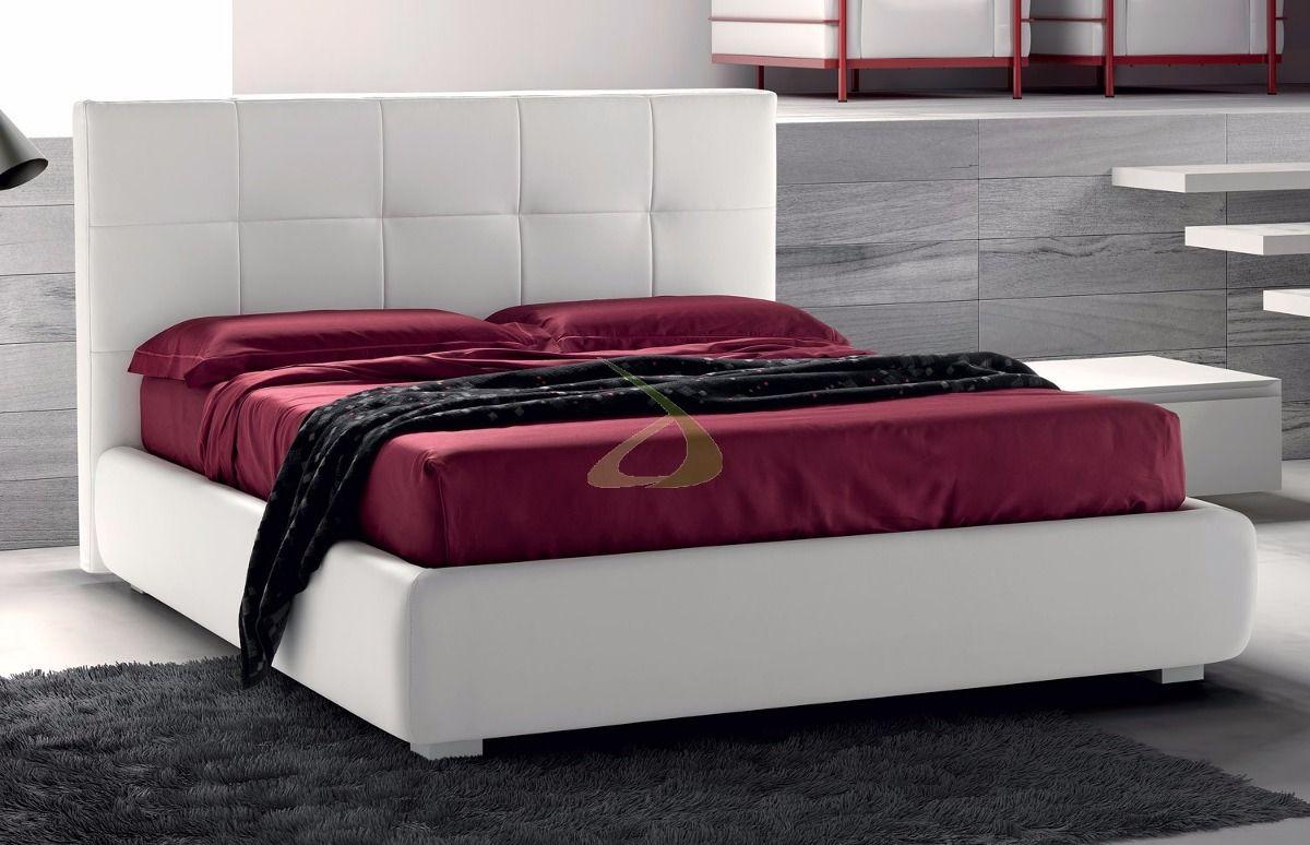 Cabecera Tapizada Quenn - $ 2,400.00 en MercadoLibre | camas | Pinterest