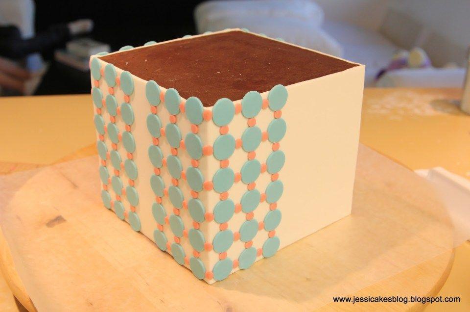 Gift box cake tutorial jessica harris cake design in