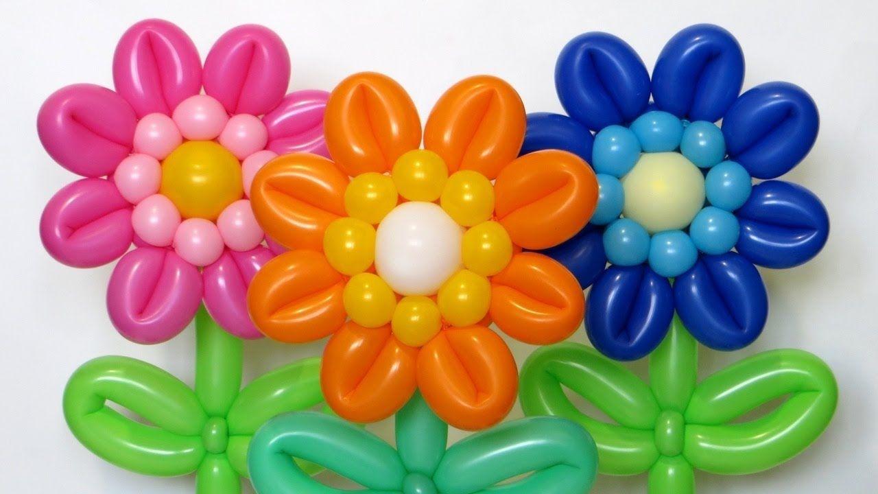Gerbera flower of balloons Subtitles Balloon