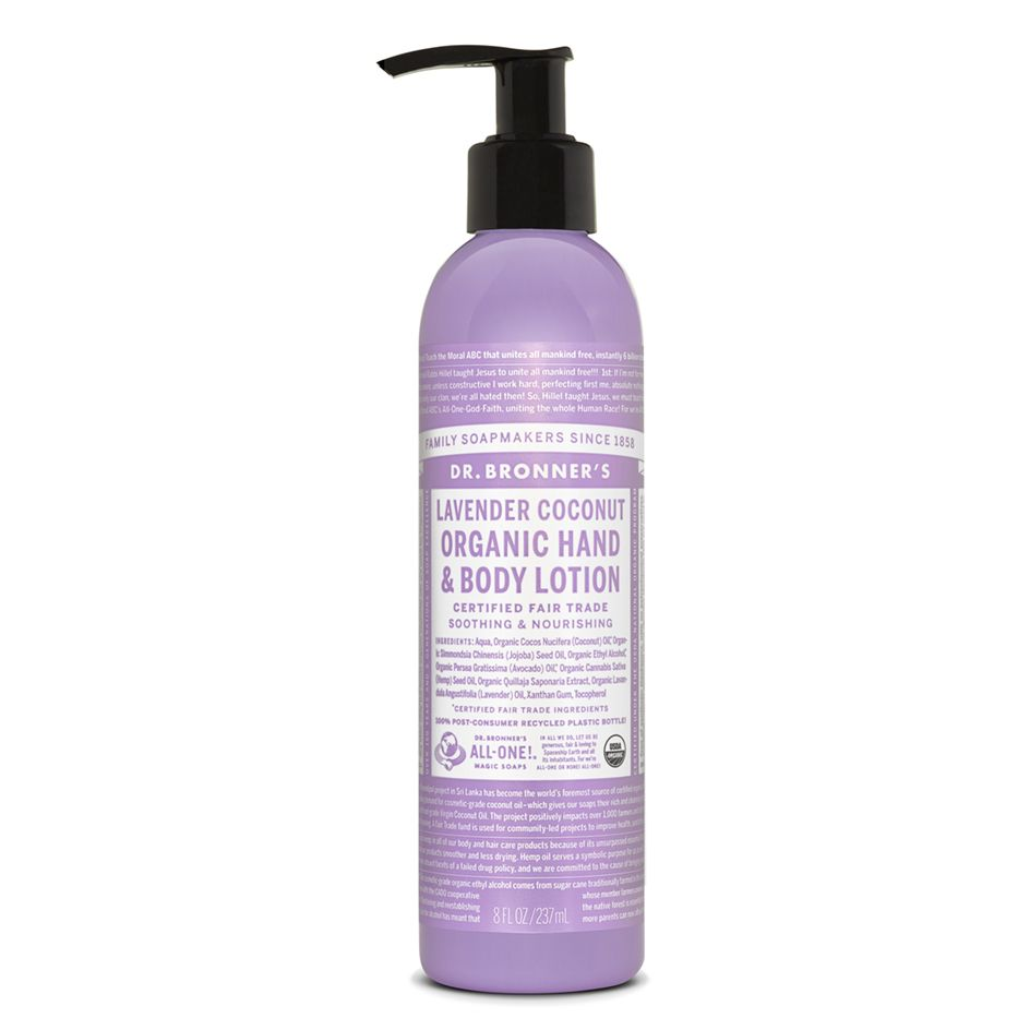 dr bronners lotion