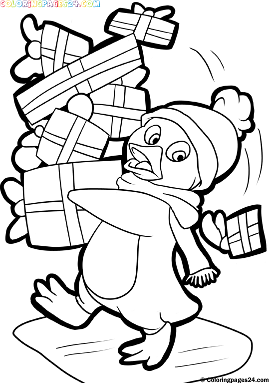 FREE Christmas Coloring Pages for Adults and Kids - Happiness is ... | 765x539
