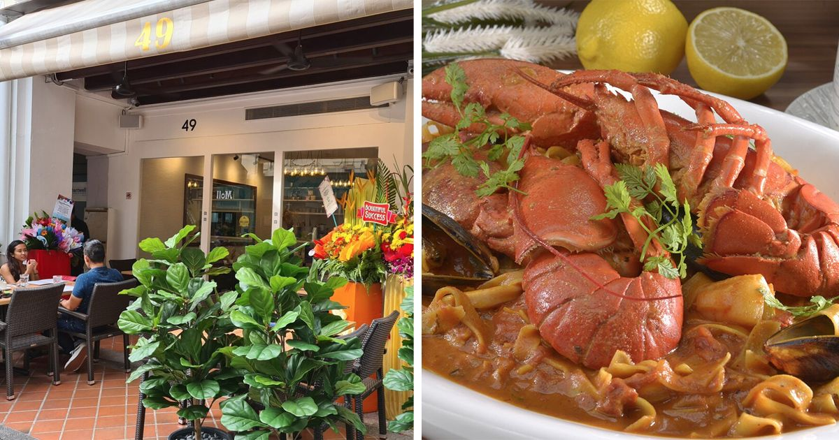 Positano Opens 2nd Outlet At Raffles Place The Halal Eater In 2020 Italian Crab Cakes Lunch Recipes Italian Restaurant