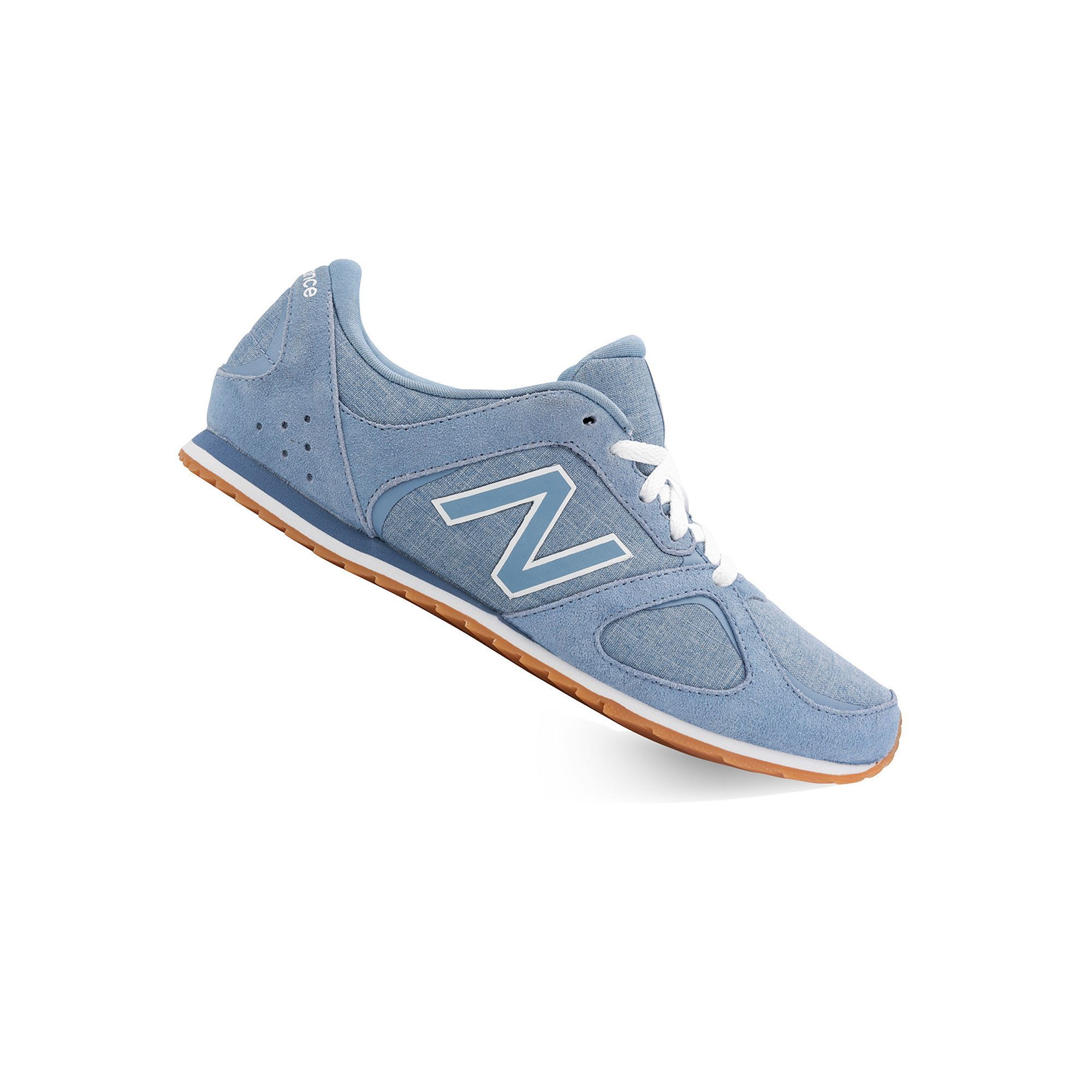 Just Buy It New Balance 555 Women's Athletic Shoes Blue